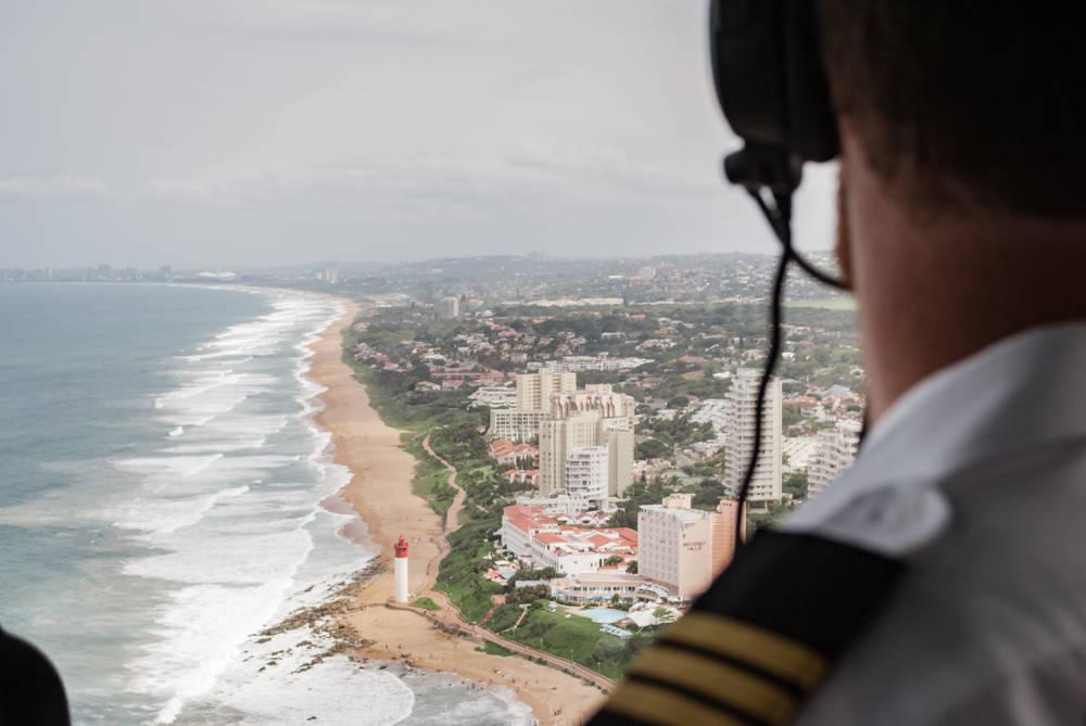 Helicopter Flight | Discover Durban - Umhlanga Lig