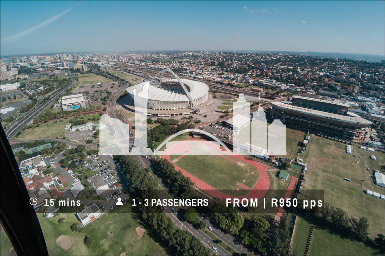 Discover Durban Helicopter Ride