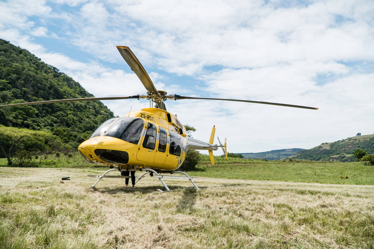 Karkloof Safari Spa Valley Helicopter Flight