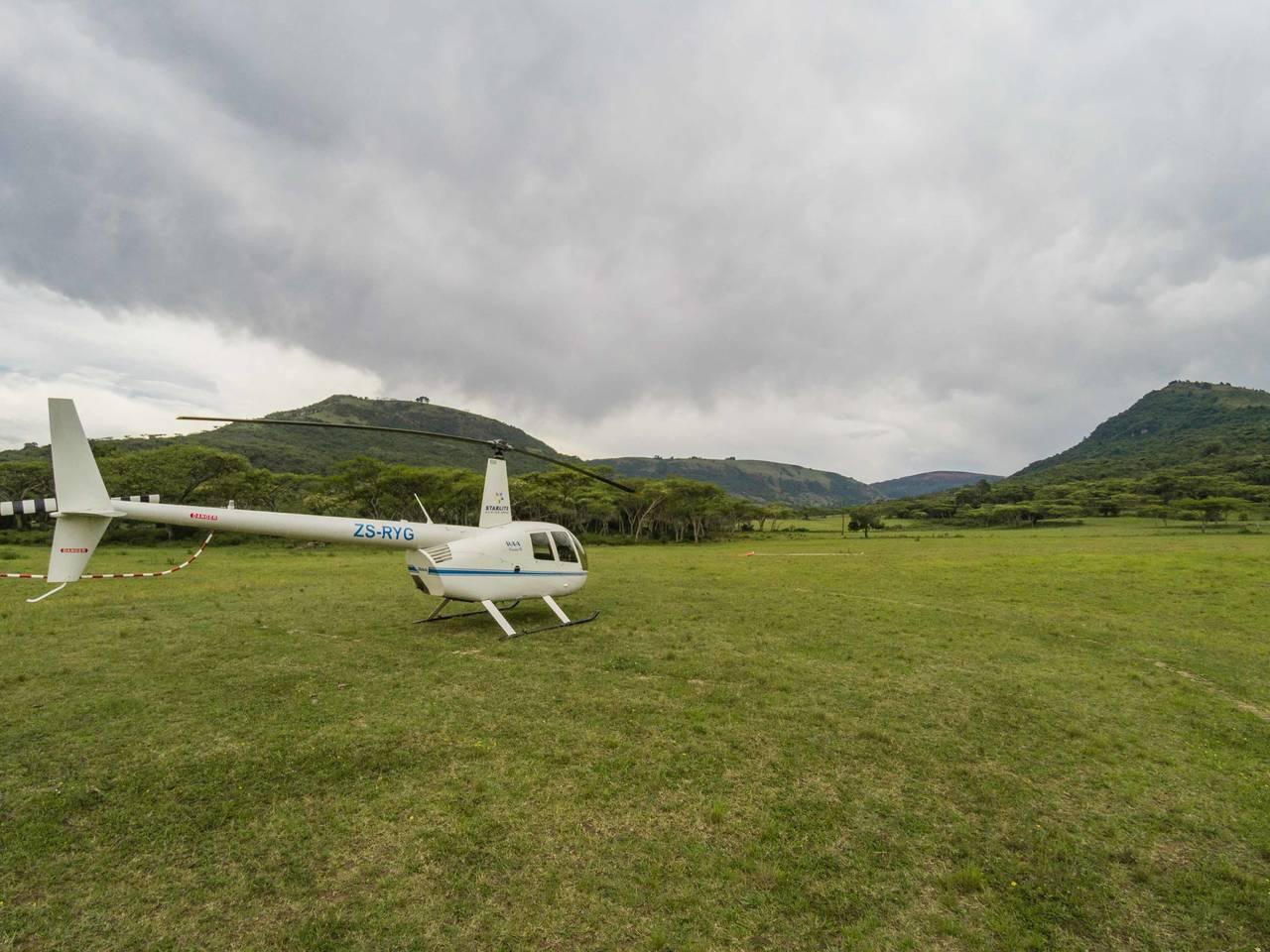 Kakloof Safari Spa Helicopter Flight