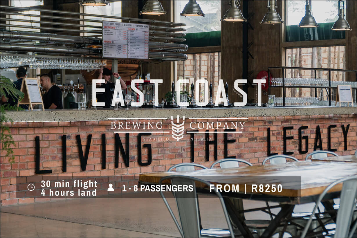 East Coast Brewery Helicopter Flight