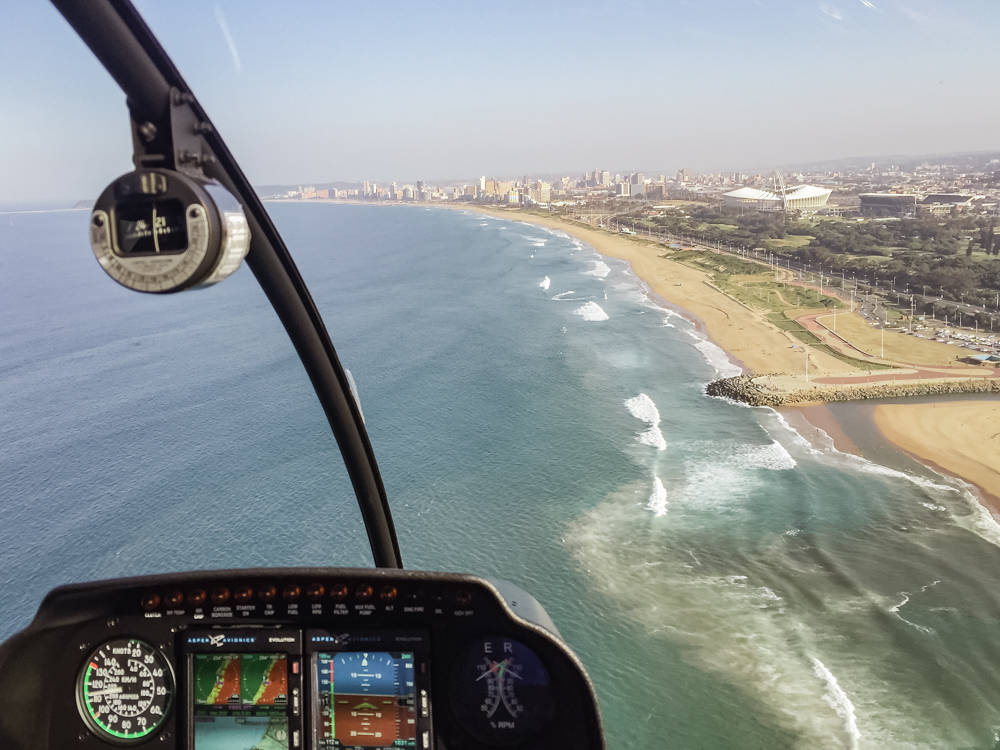 Helicopter Flight   Adventure Flight - Durban