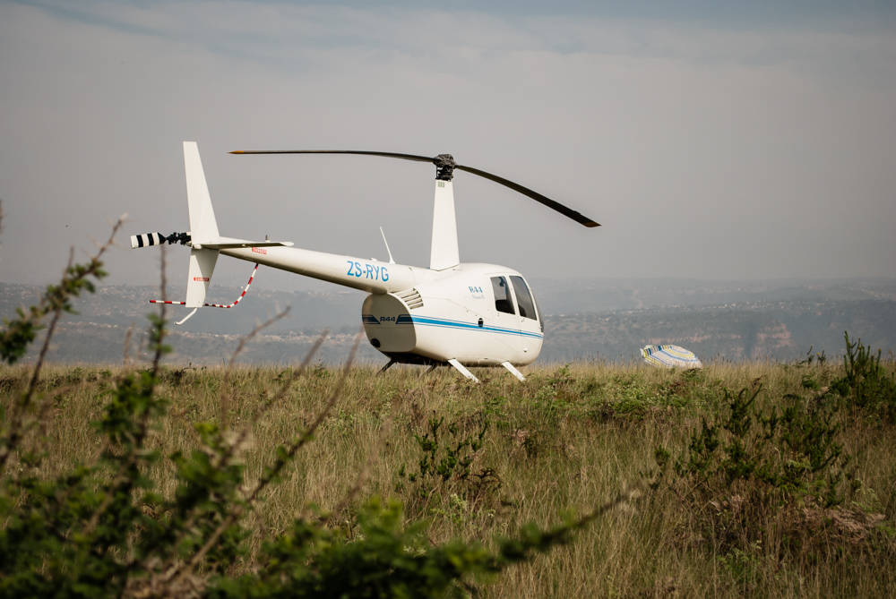 Helicopter Flight | Picnic on Inanda Mountain - He