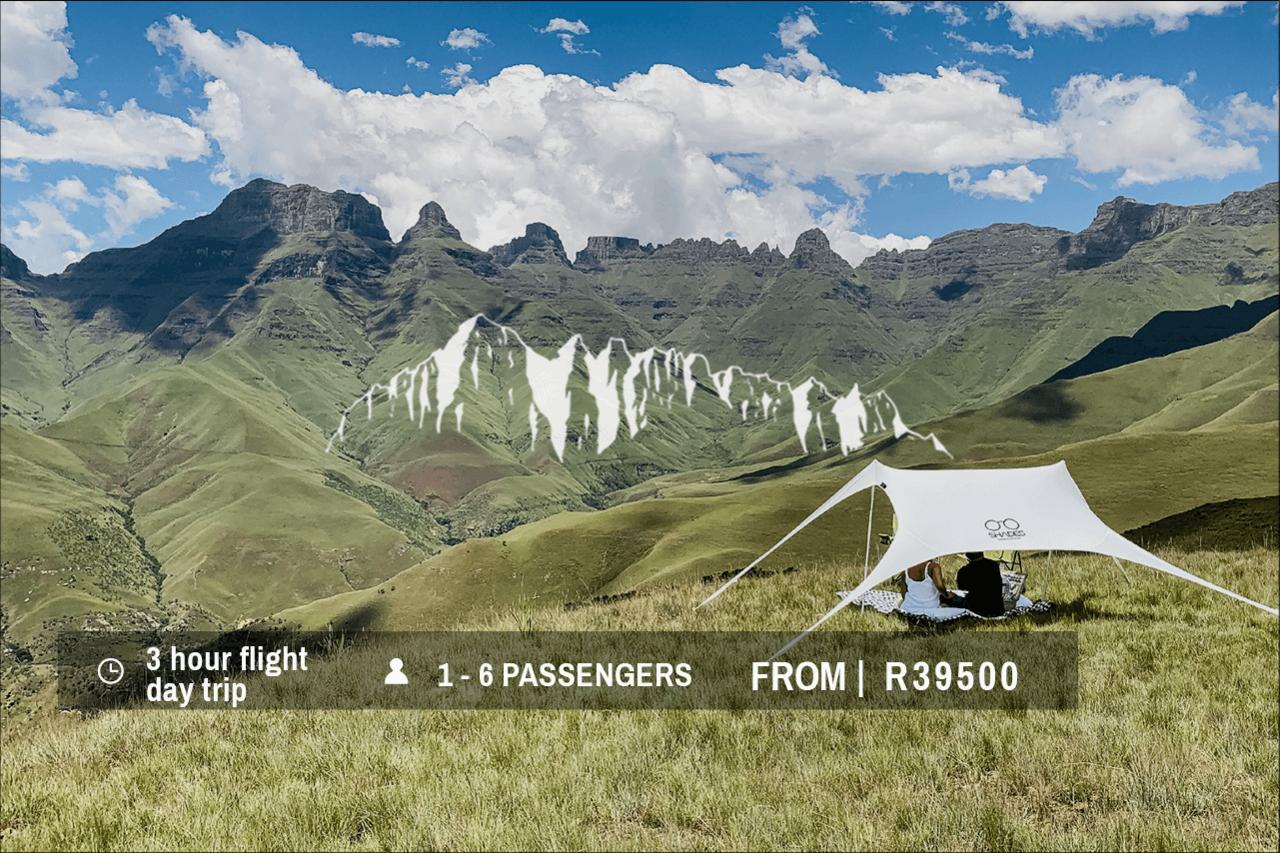 Helicopter Flight   Drakensberg Helicopter Tour Ca